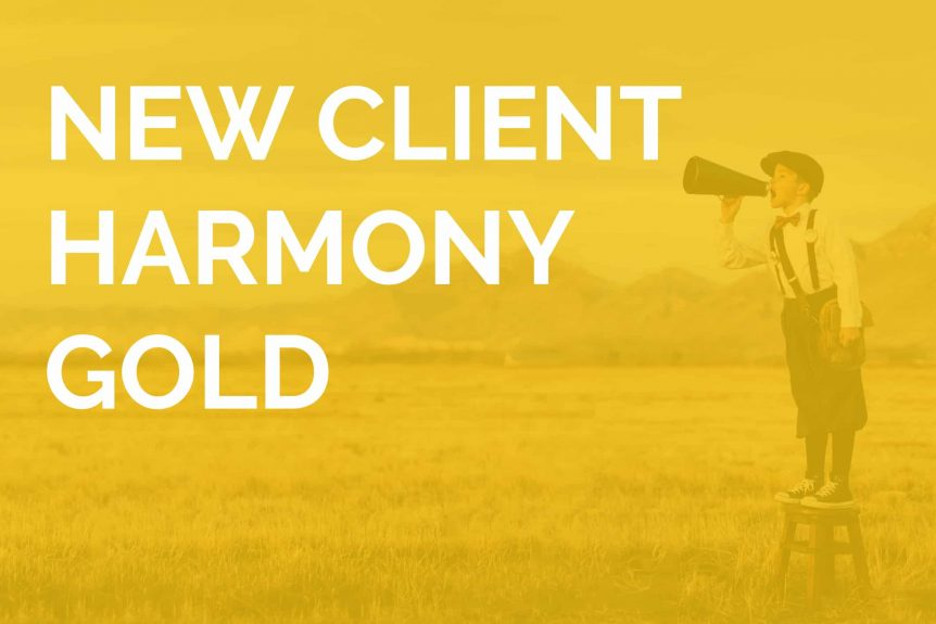 New Client Harmony Gold